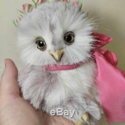 Rose Ooak Owlet 6,2`` (16cm) Par Irina Salimzyanova