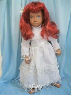 Sasha Doll Ooak Artiste Repeindre W Frido De Style Yeux Teints Personnalisés Redhead Multi-tons