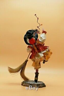 Sorcières Ooak Art Doll Halloween Poupée Art De L'artiste Sherrie Neilson