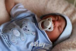 Stock Reborn Low Baby Doll Logan Handpainted Par L'artiste Sunbeambabies Ghsp