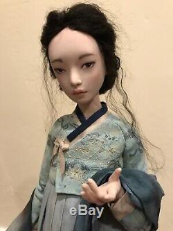Tatiana Simukova Statique Artiste Coréenne Doll Ooak Handmade