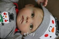 Vente De La Momme! Reborn Baby Boy Astrid Par Sandra Maxwell Prototype Artiste Gagnante