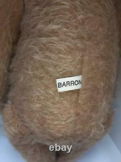 Vintage 13 Ooak Mohair Teddy Bear Par L'artiste Sharon Barron, Entièrement Joint