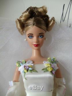 Vintage 1999 Ooak Doll Barbie Par L'artiste Luis Maturino Main Mint & Gorgeous
