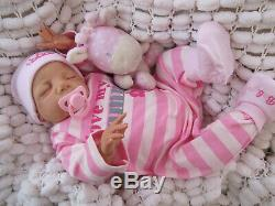 Vinyle Lisse Réincarné Baby Doll Britannique Artiste 22 Sunbeambabies Hsp Decores