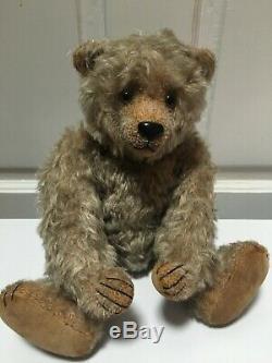 Walter Teddy Bear Artiste Yvonne Graubaek (hovvigs) Mohair Articulé Ooak / Le 13