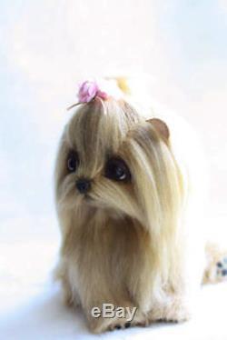 Yorkshire Terrier Lolo, Jouet Fait Main
